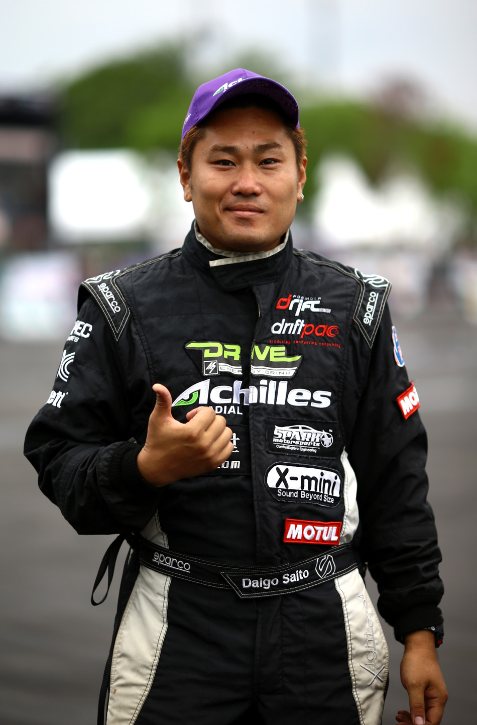 Daigo Saito drifting in australia