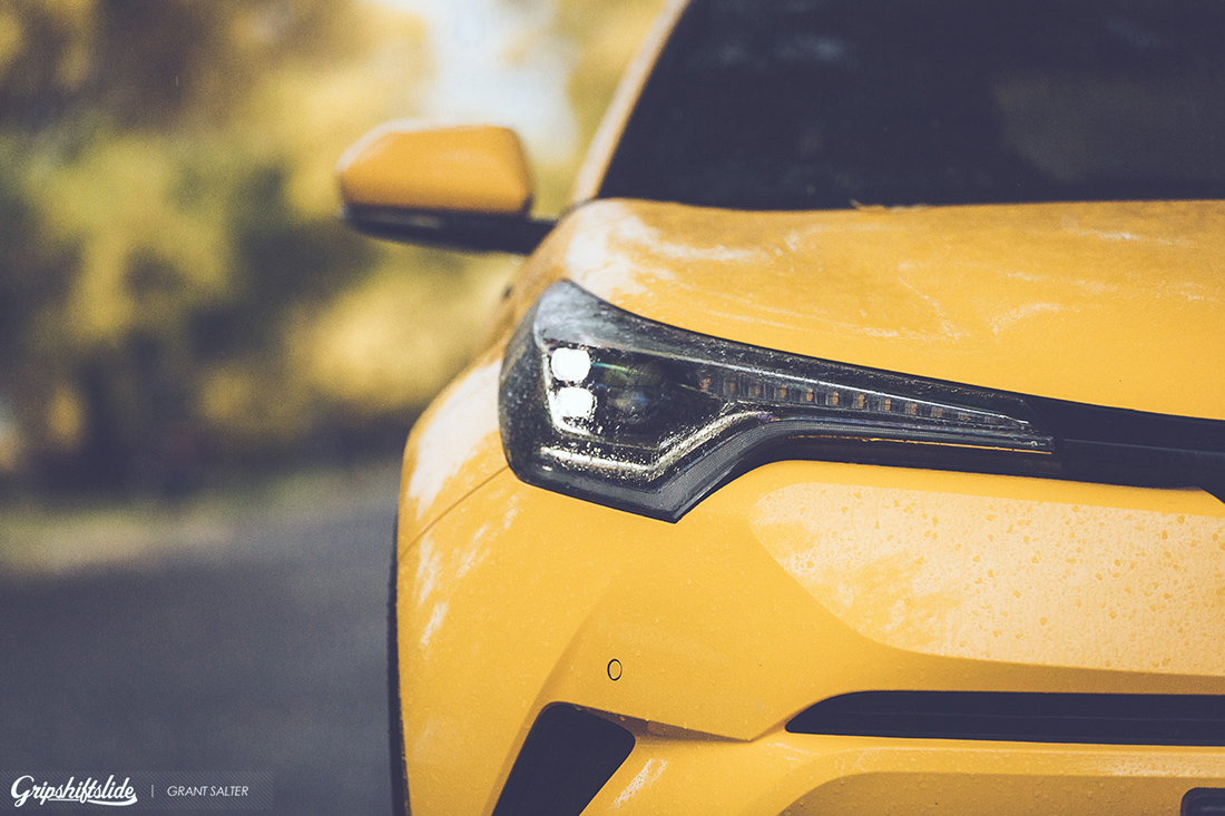 toyota c-hr yellow front
