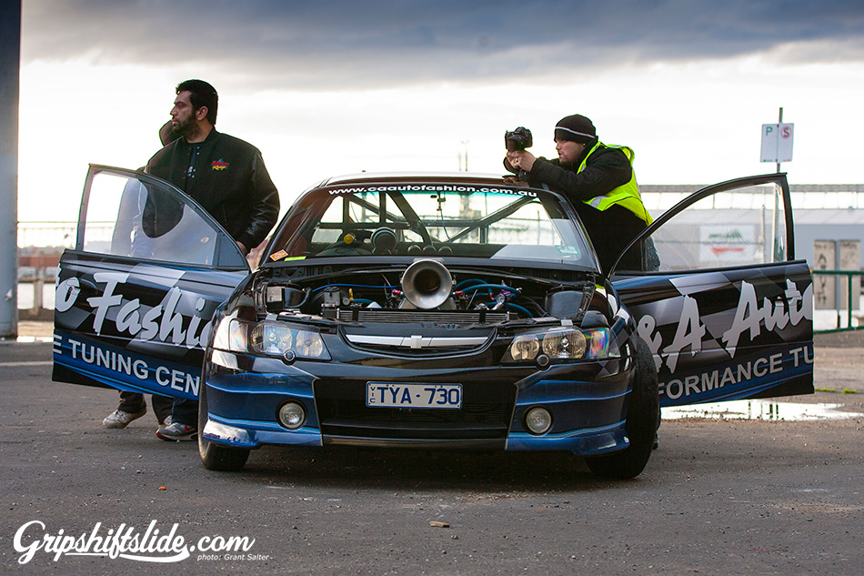 holden drag car