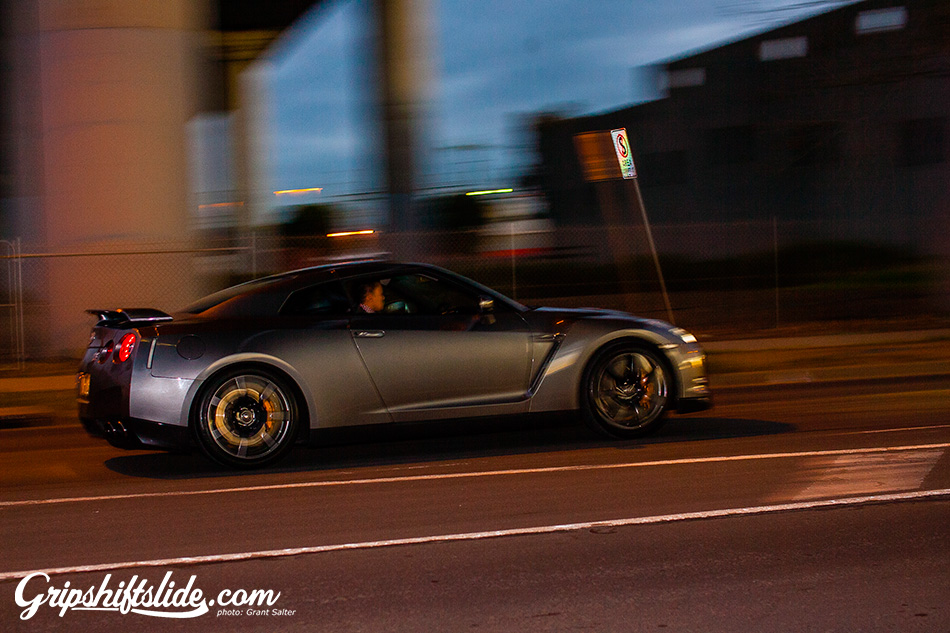 R35 on the move