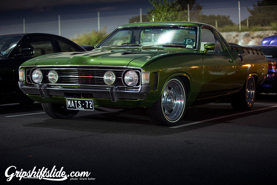 classic ford ute
