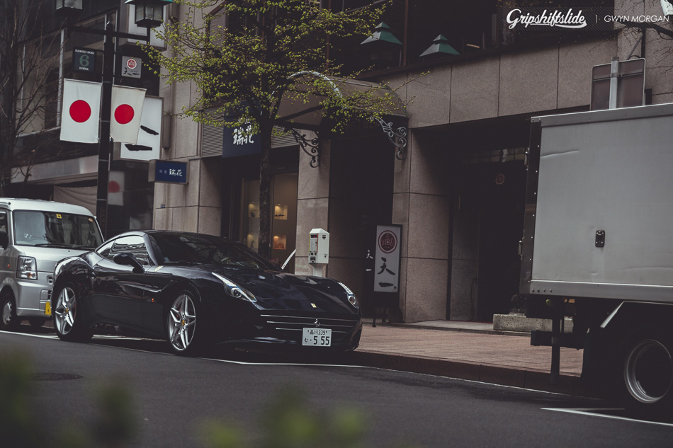 Japan traffic