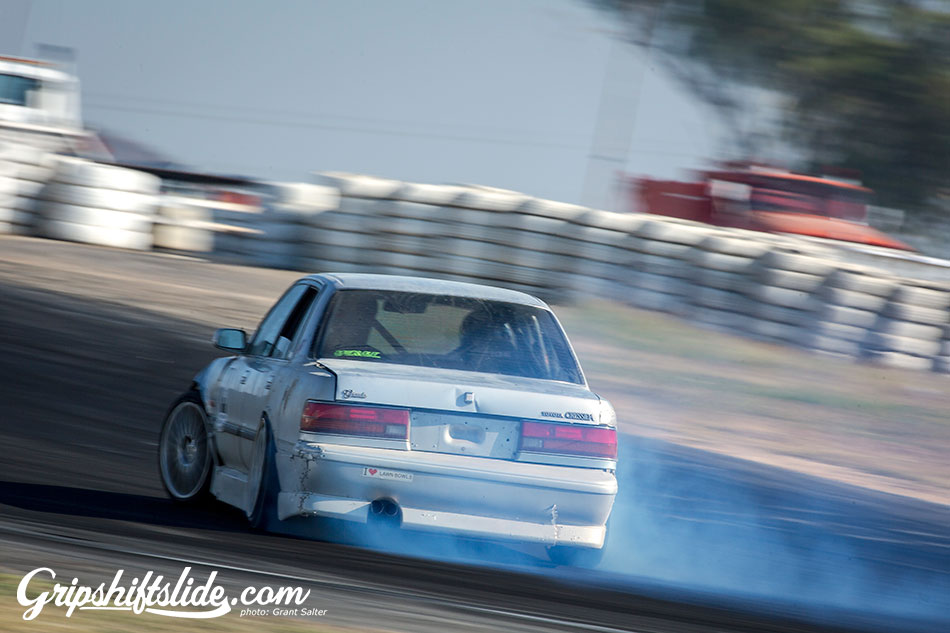 toyota old man car drift
