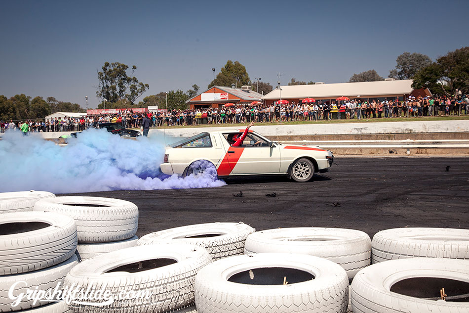 starion burnout smoke