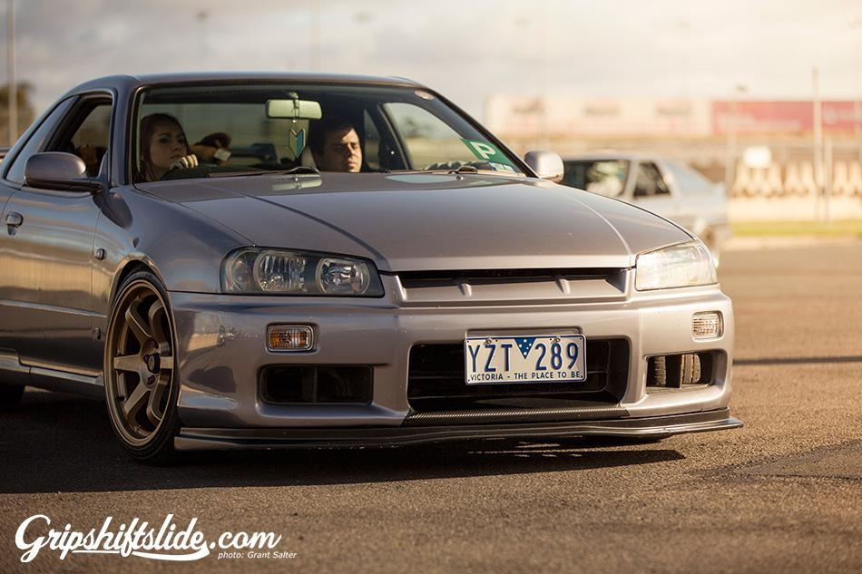 R34 girl drifter, australia