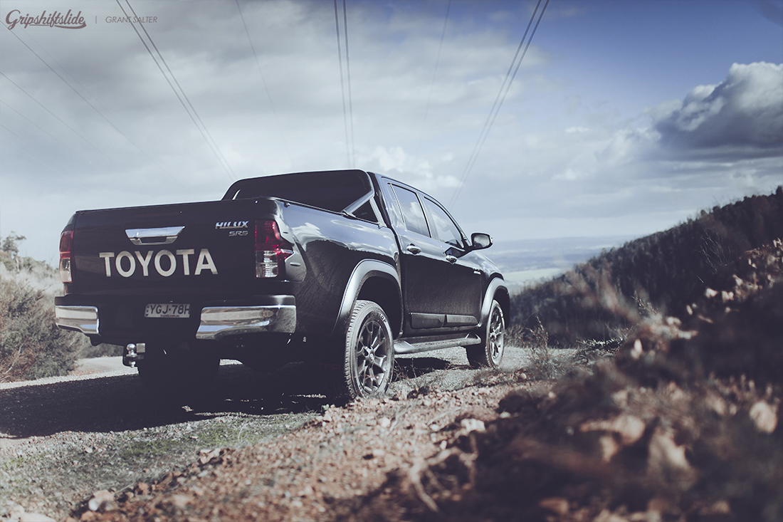 4x4 toyota ready for action