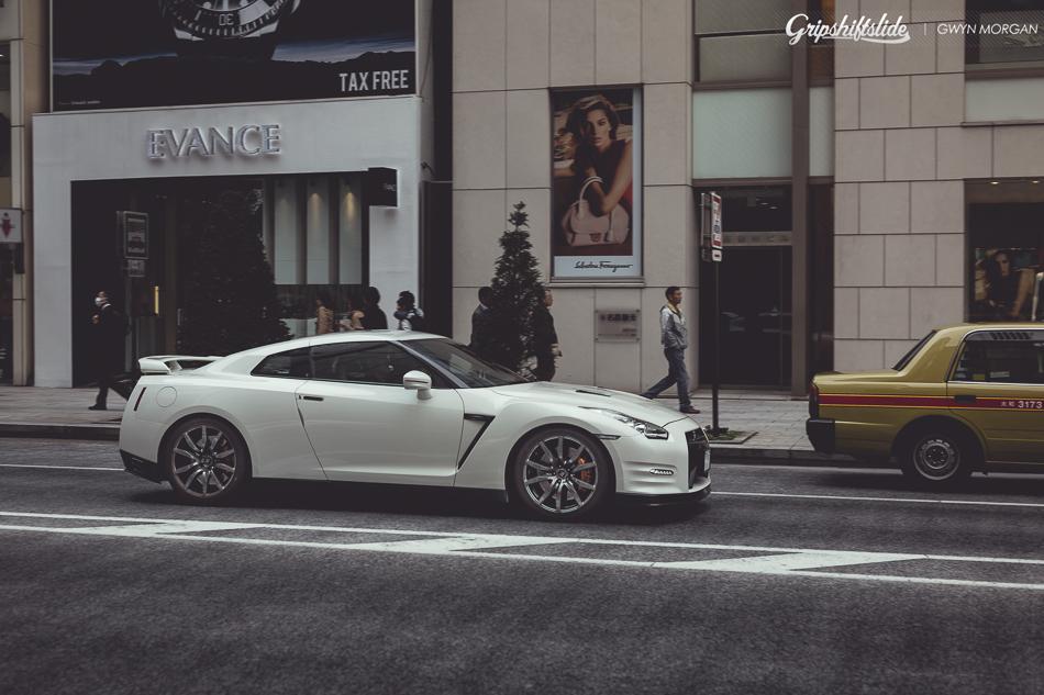 japan gtr street scene