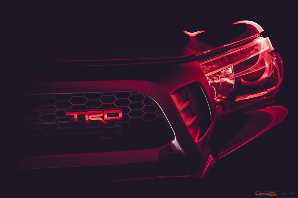 trd hilux headlights evil