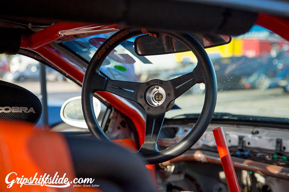 interior drift car